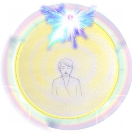 金澤みやこ 虹色のオーラ イラスト