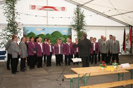 Chor 2009 in Badersleben