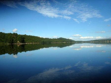 Sui laghi Hodalen