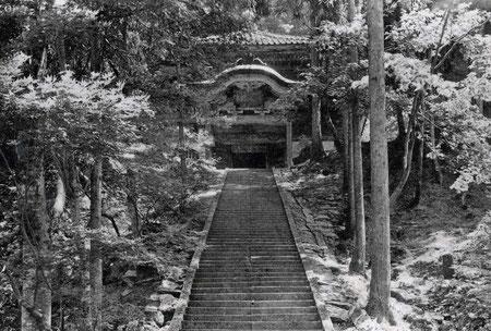 大本山永平寺・経蔵 (輪蔵)・絵葉書 (東川寺所蔵)