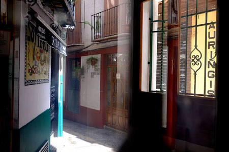 Photographie, Espagne, Andalousie, Jaén, rues, ruelles,, architecture, lumière, reflet, Mathieu Guillochon