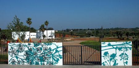 Parque Norte.Mairena del Alcor.Realizado con Americo Parrilla y Carolina Sanfer.
