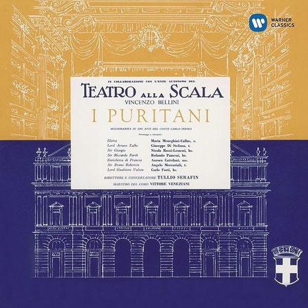 カラスとEMIとの契約後、初めてレコーディングされたペリーニのオペラ『清教徒』- Callas Remastered