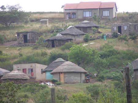 Un village Zoulou