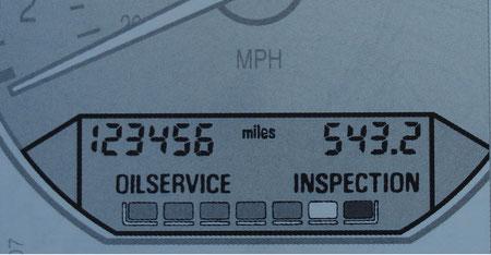 BMW Service Indicator