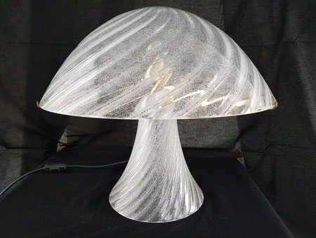 Carlo nason Lampe en verre de Murano pour Mazzega vistosi barovier toso
