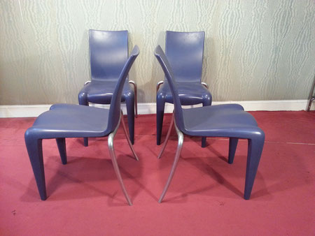 Philippe Starck 4 Chaises Louis 20 édition Vitra
