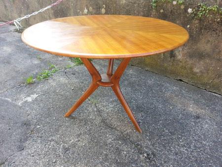 Table italienne en meriser vers 1960