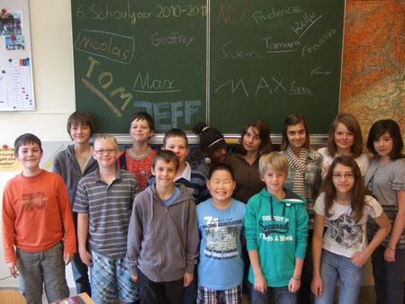 6. Schuljahr 2010/2011 (15. Juli 2011)