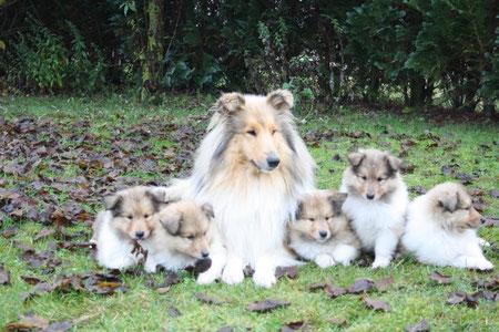 Bayuma und ihre Kinder