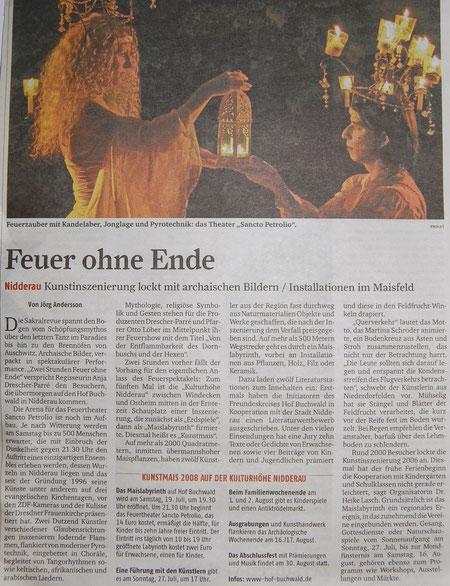 Frankfurter Rundschau, 17. Juli 2006