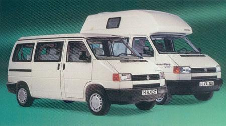 T4 5 Campers Vw Bus Camper