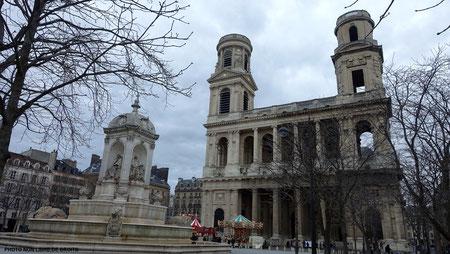 Eglise Saint Sulpice, photo non libre de droits