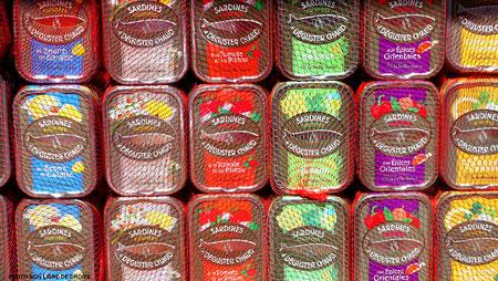 Au paradis des sardines, Le Touquet, photo non libre de droit