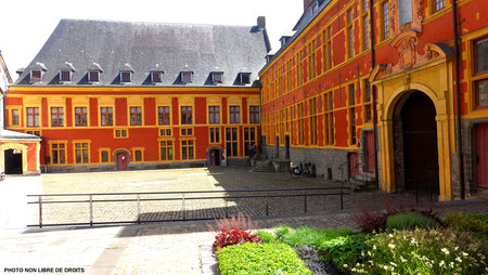1 musée, Hospice Comtesse, Lille, photo non libre de droits