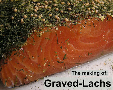 graved lachs selbst gemacht gravlax gravad lax rezept und anleitung gravlaxs recipe how. Black Bedroom Furniture Sets. Home Design Ideas