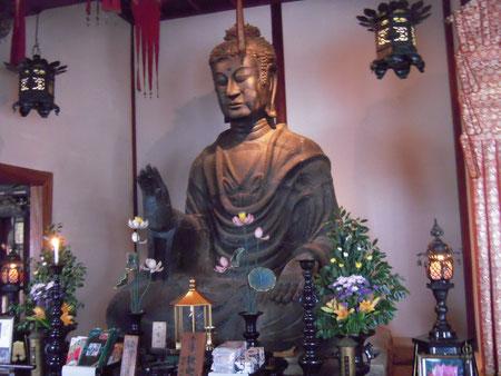 奈良 飛鳥寺の大仏 H24.4.29