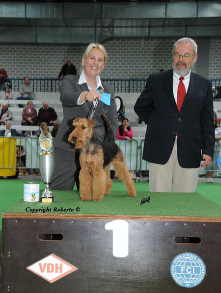 Sieger Gruppe 3 CACIB Lingen 29.4.2012