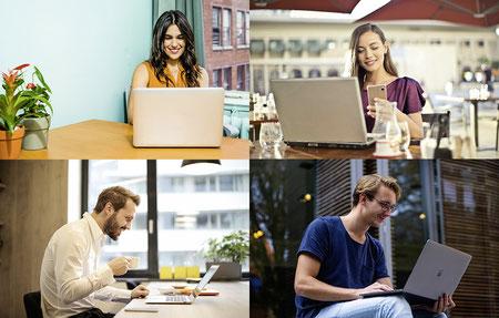 Gemeinsam lernen und sich austauschen in der Online Community