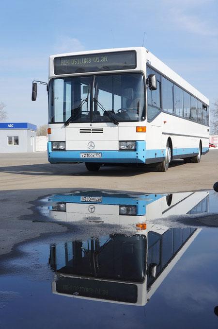 """Mercedes-Benz O405 (357000). Фестиваль """"Мир Автобусов-2012"""". Коломна, 25.04.2012"""