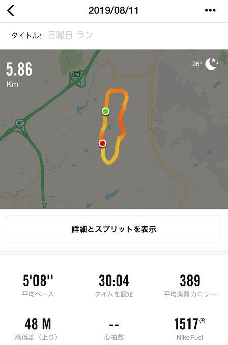 しあわせの村 ジョギングコース