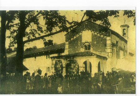 Festa ad Isana anni 1920-30
