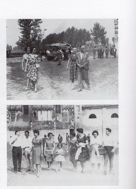 Festa ad Isana anni 1970