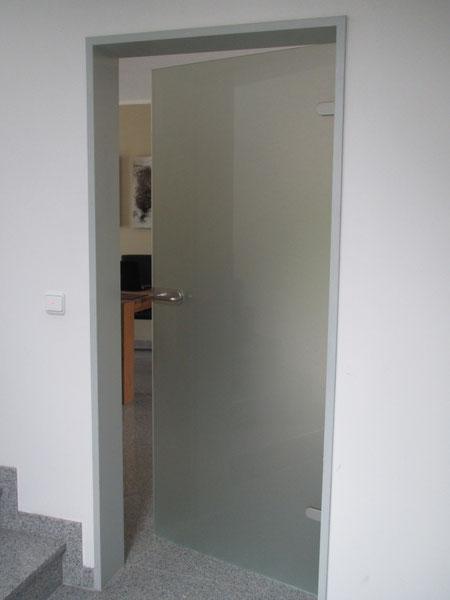 Zimmertür (Satiniert)