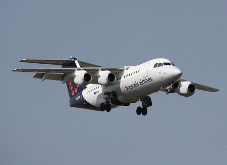 RJ85 OO-DJL-1