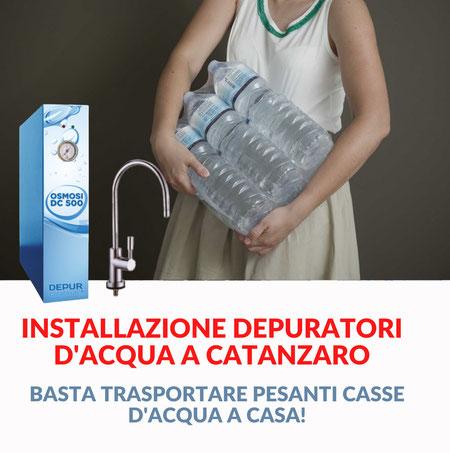 depuratori acqua catanzaro