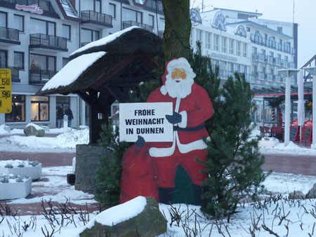 Duhnen und die Duhner wünschen Frohe Weihnachten