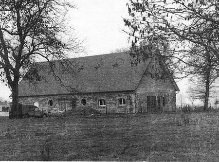 le blockhaus de domleger avec son toit