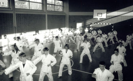 Kihon Dojo München im Jahre 1991