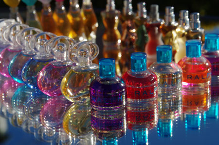 arc en ciel de parfums