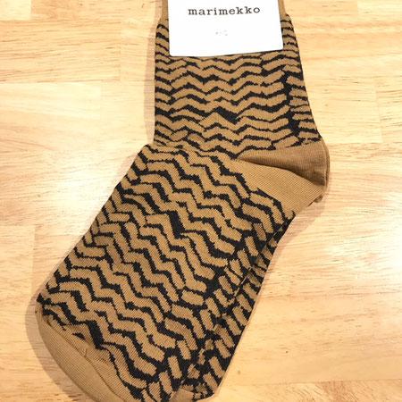 マリメッコ marimekko 北欧 フィンランド 靴下
