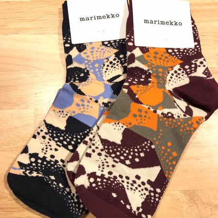 マリメッコ marimekko 靴下 デザイン性