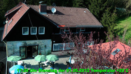 Wetter vom Dienstag den 01.05.2012 um 17:24 Uhr Sonnenschein Temperatur 20°C