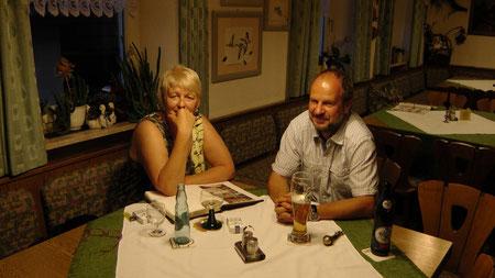 Iris und Rainer Urlaub in der Entenmühle