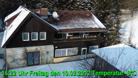 Wetter vom Freitag den 10.02.2012 um 16:22 Uhr Sonnenschein Temperatur -8°C