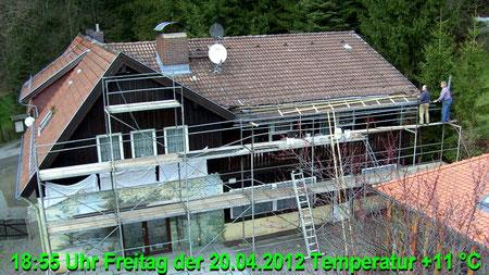 Wetter vom Freitag den 20.04.2012 um 18:55 Uhr bewölkt und trocken Temperatur 11°C