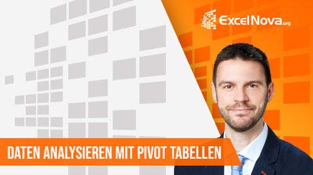 Online Excel Pivot Kurs