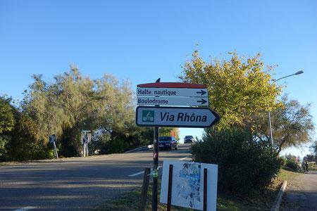 Panneau Via Rhôna