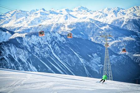 The Torrent ski area