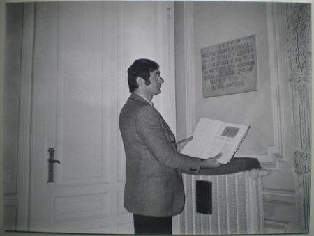 Boscolo 1975 - ritrovamento lapide