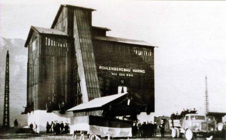 Eröffnung der neuen Sortier- und Verladeanlage am Bahnhof Kirchbichl, am 4.12. 1948