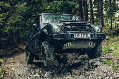MAG Lifestyle Magazin Auto Motor Sport Geländewagen Ineos Grenadier Allradfahrzeuge britisches Design deutscher Motortechnik Magna Steyr Land Rover Mercedes Puch G Jeep Commander