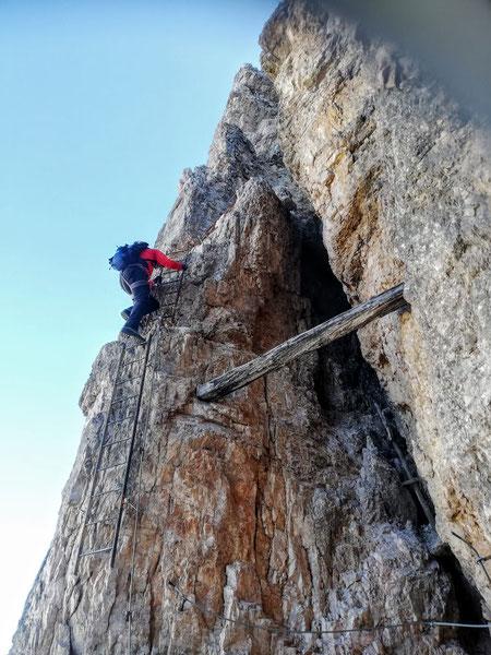 Toblinger Knoten, Dolomiten, 3 Zinnen