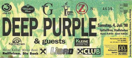 Deep Purple Spittal/Drau, Konzert
