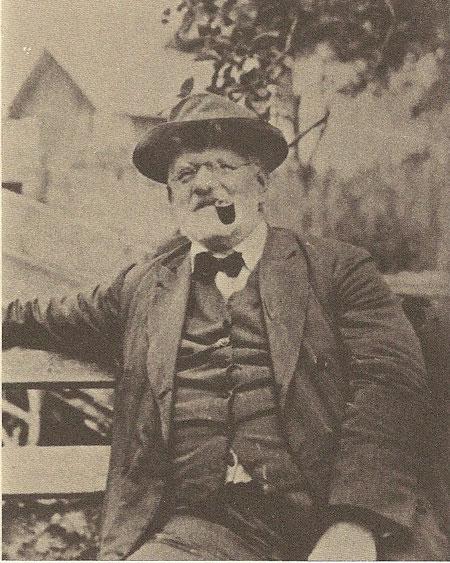 Wolfsbachs berühmtester Gast, der Alpinist und Schriftsteller Julius Kugy