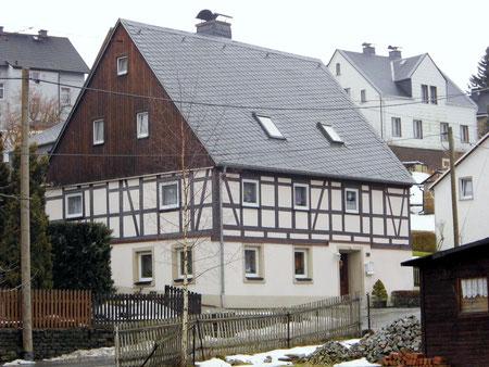 Bild: Fachwerkhaus Wünschendorf Erzgebirge